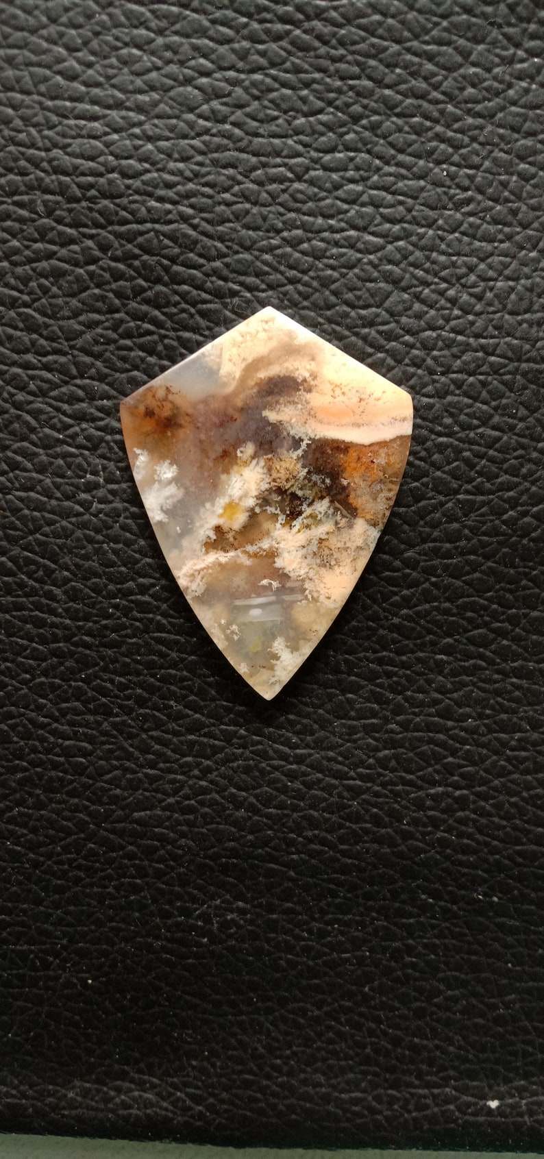 Rare Graveyard Point Plume Agate Cabochon Loos Gemstone Best For Jewellery!!