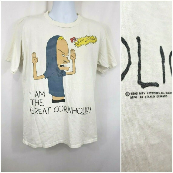 Vintage 1995 MTV Beavis and Butthead Graphic Shirt