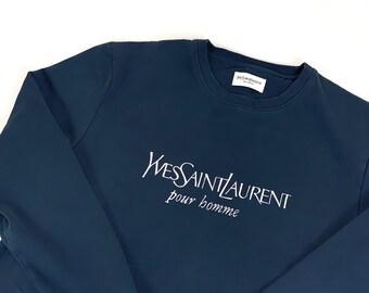 am besten billig 100% Qualitätsgarantie Neuestes Design Ysl vintage sweater   Etsy