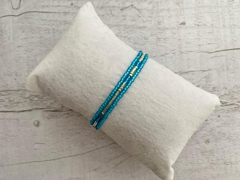 Memorial gift Morse Code Jewelry Memorial beads Bracelet See you in Heaven