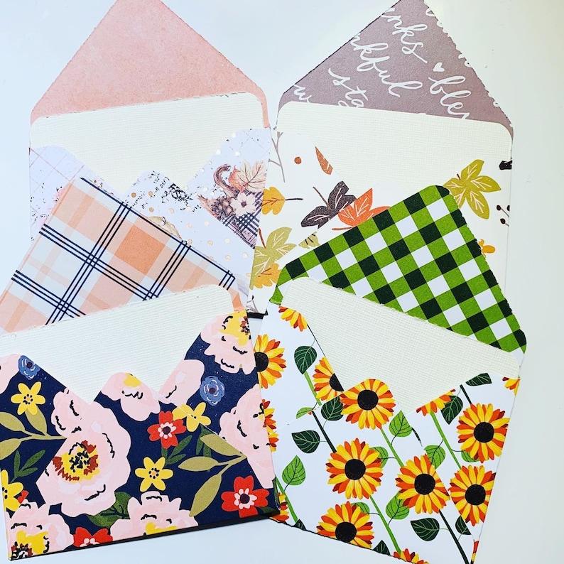 Set of 4 \u201cFall\u201d Blank NotecardsThank You CardsGift CardsJust Because CardsNotecardsFall Cards