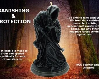 Banishing & Protection In One Candle