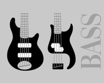 Guitar Svg Etsy