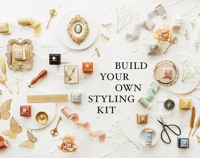 Featured listing image: Buld Your Own Flat Lay Styling Kit for Wedding Photographers