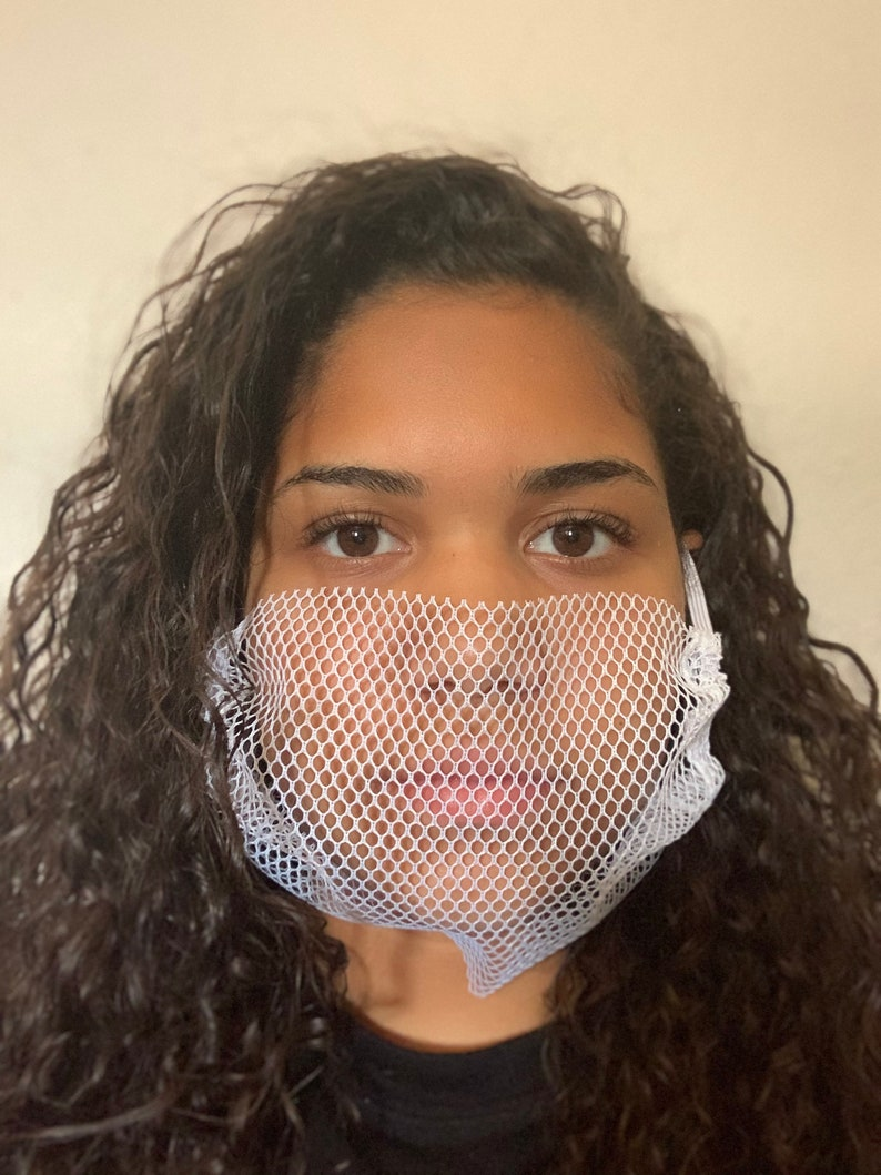 Breathable mesh facemask washable image 0