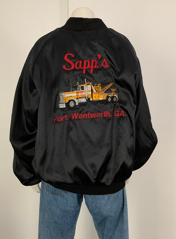 Awesome Vintage Trucker Bomber Jacket