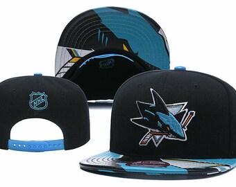 San Jose Sharks NHL Embroidered Hat Snapback Adjustable Cap