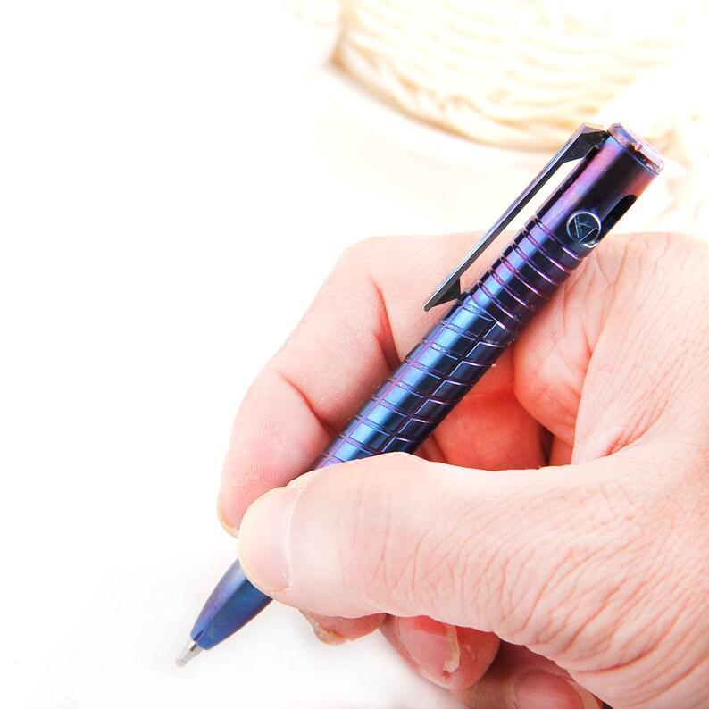 TITANER Titanium Bolt Pen Pocket Dump Tactical EDC