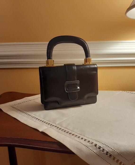 Vintage Tano of Madrid Leather Handbag