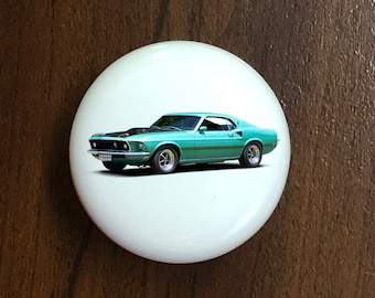 CHEVY Z//28 HOME DECOR CERAMIC KNOB DRAWER CABINET PULL