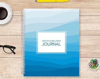 Health Journal / Medical Notebook / Wellness Planner / Symptom Diary / Medical Organizer / Medication Diary / Health and Wellness Journal