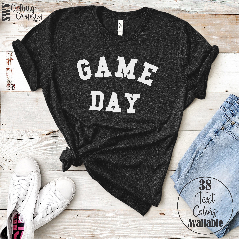 Game Day Shirt - Football Shirt - College Football Mom Shirt - Baseball Mom Shirt - Sunday Football - Cute Football Shirt - Sports Shirt Unisex Tshirt