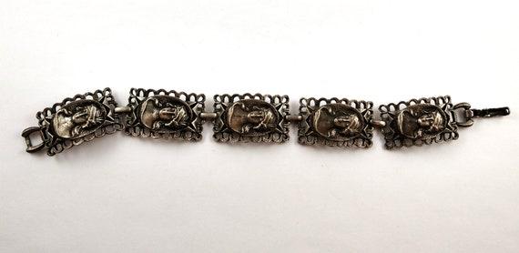 Art Nouveau Bracelet, 1950's - image 3