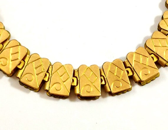 Victorian Book Chain Necklace, Gold-Filled, 1800's