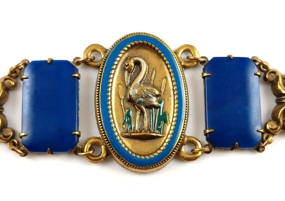 Art Nouveau Bracelet, 1980's - image 2