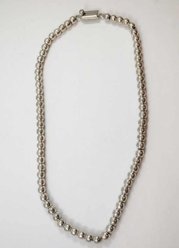 Vintage Mexican Sterling Necklace, 1960's