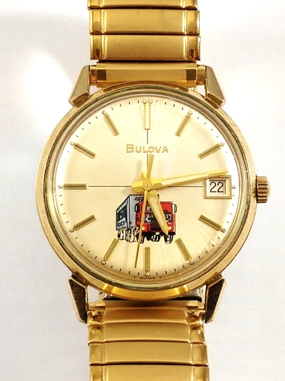 Vintage Bulova Men's Watch, 1970's