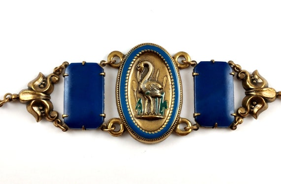 Art Nouveau Bracelet, 1980's - image 1