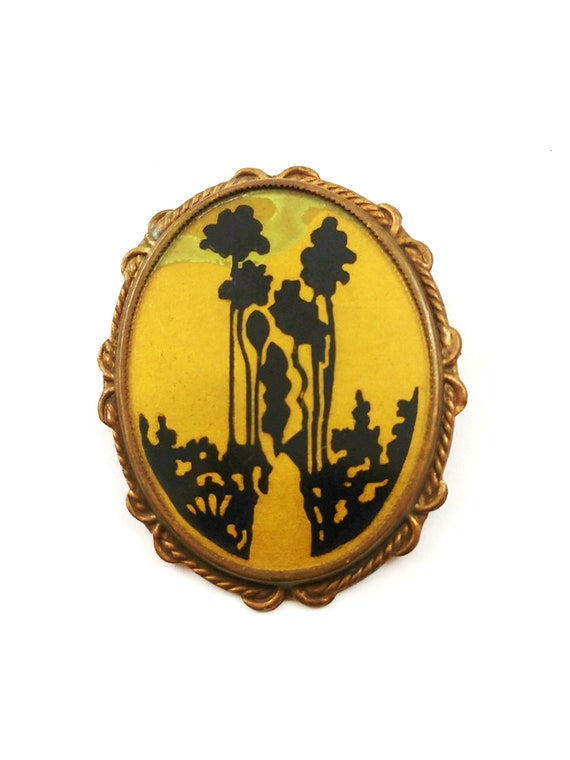 Art Nouveau Brooch, 1910's
