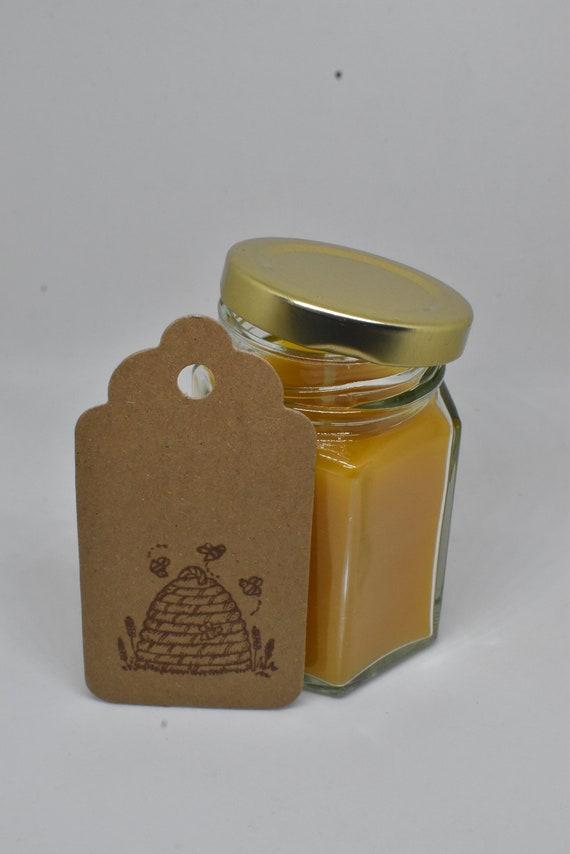 4 ounce Ball glass jar Handmade 100/% Beeswax Candle