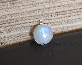 Hot Sale ! Silver Plated Bezel Pendants Mix Shapes /& Size Moonstone Pendants Lots Jewelry Natural AAA Rainbow Moonstone Bezel Pendants