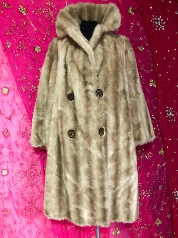 1950s Vintage Fur Coat