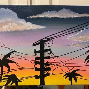 KTV Studios Thank You 12x12 resin painting