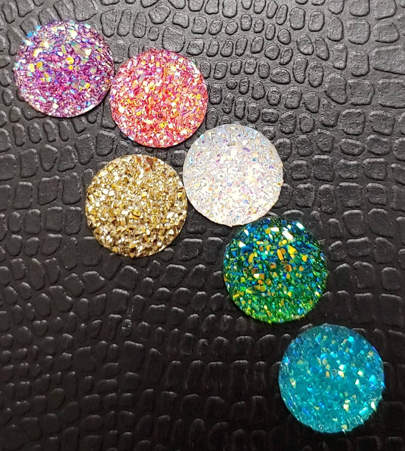 Crystal Sparkle round cover minder/'s