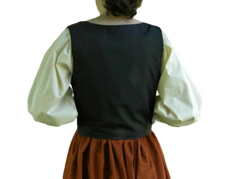 RENAISSANCE VICTORIAN MEDIEVAL Pirate Top Wench Bodice