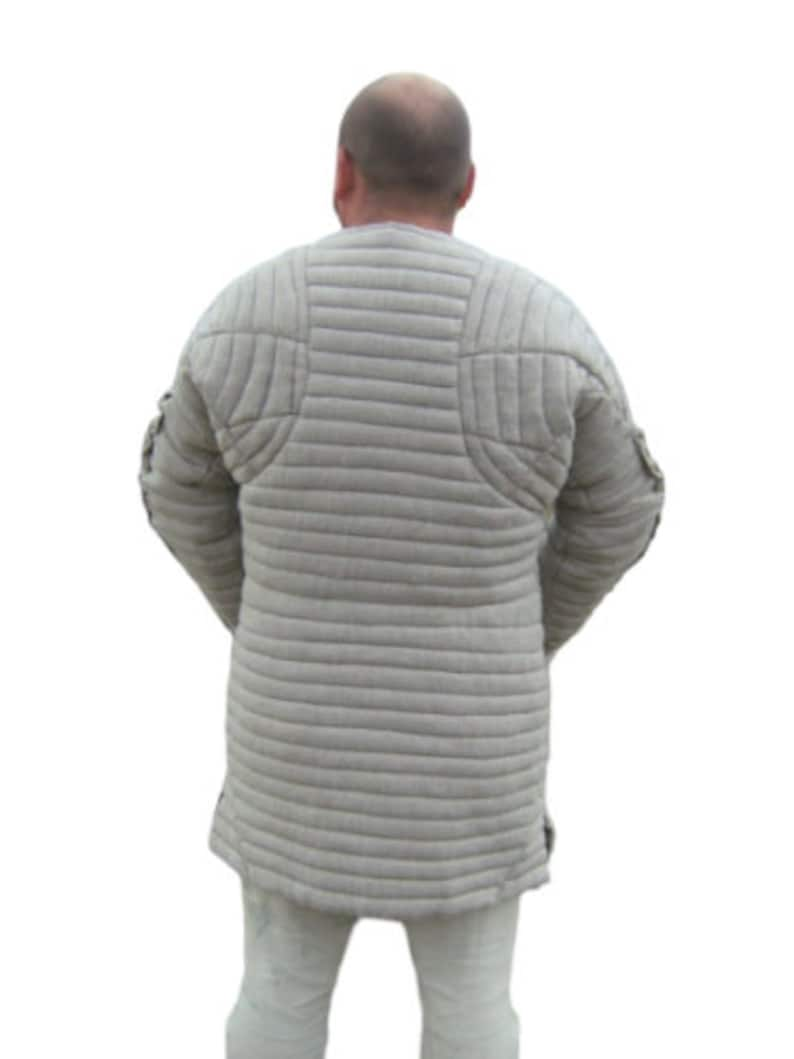 Medieval Thick Padded Gambeson suit of armor quilted costumes theater larp