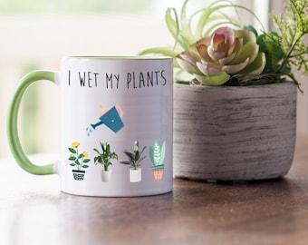 Sometimes I Wet My Plants Charm Bracelet Funny Gift for Plant Lover Florist Gardener