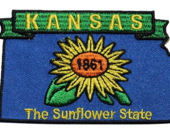 MISSOURI STATE SEAL Printed Patch Sew On Bag Display your travels! Hat