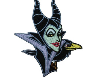 Disney Villains Embroidered Iron on Patch Set of 4