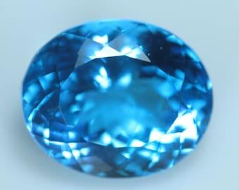 10 pcs Sky Blue Topaz Color QUARTZ Men Made Stone So Gorgeous Nice Color Super Sparkle Rose Cut Cabochon  size 8x8 mm