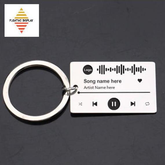 Targhetta personalizzata con Spotify Code