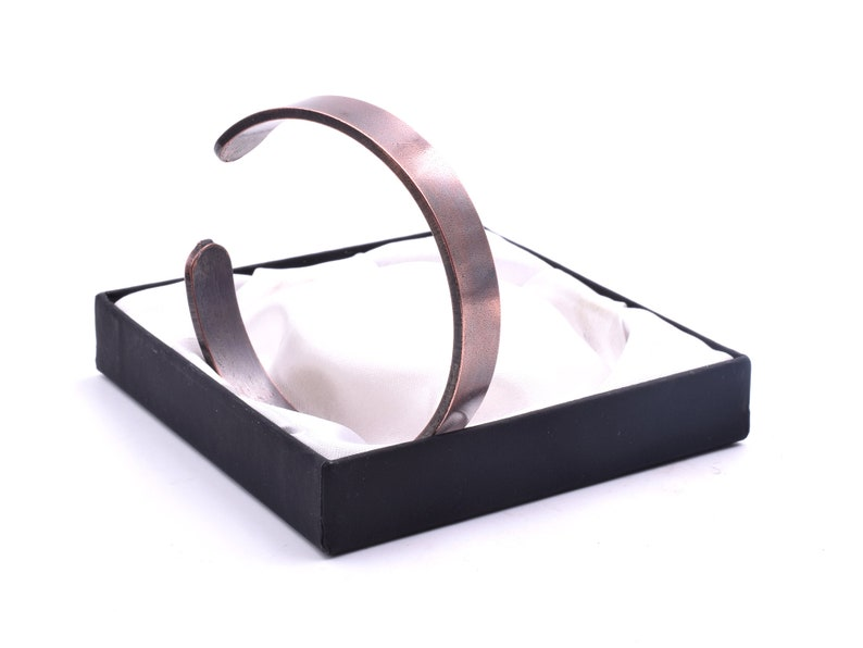 Timeless Plain Band Design Mens /& Womens Copper Bracelet Unisex Non Magnetic Bangle
