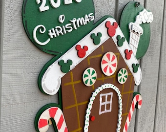 Mickey inspired gingerbread house