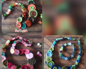 Beautiful Chunky button sets! (See description and listings for your options!)