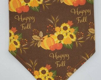 Happy Fall pet bandana