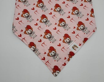 Pennywise Love pet bandana