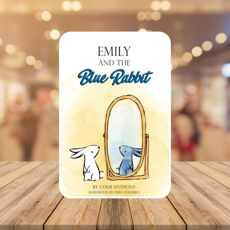 Emily and The Blue Rabbit image 0