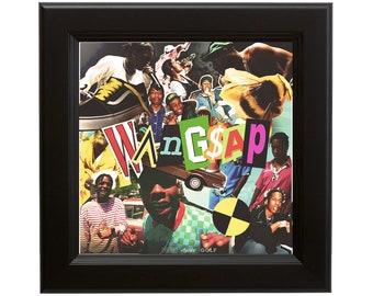 D-1262 New Asap Mob Cozy Tapes vol 2 Album 27x40IN fabric Art Poster