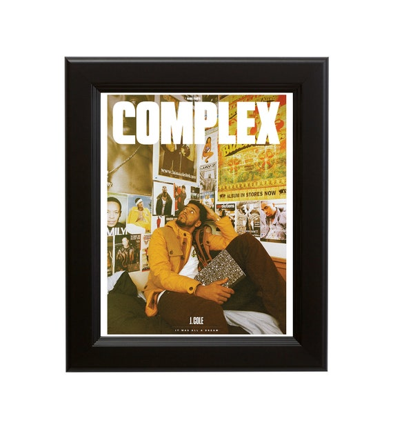 2014 Forest Hills Drive Album Cover Poster J Cole Art Print size 16x20