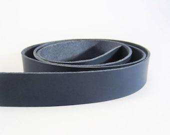 "Gents Cintura in pelle cucito Tutte le Taglie Larghezza 1,25 /"" 32 mm"
