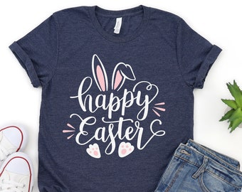 Girls Easter Outfit Happy Easter T-shirt Easter Shirts for Girls Easter Shirt Easter Girl Shirt Happy Easter Shirt