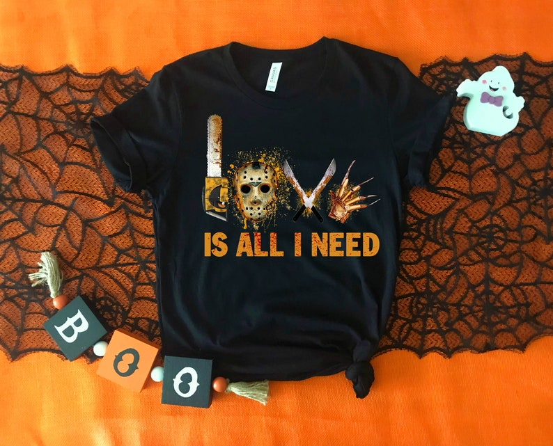 Love Is All I Need Halloween Shirt