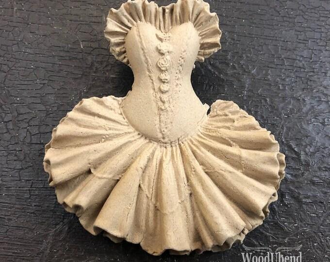 """WoodUBend Dress WUB0050 3.15 x 3.55"""" - ADVANCED SALE Due in Stock Oct 31st"""