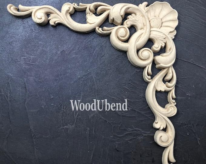 """WoodUBend Single Pediment WUB6069 8.27 x 16.08"""" - ADVANCED SALE, Due in Stock Oct 31st"""