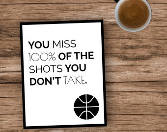 You miss 100% of the shots you don't take. Quote Download