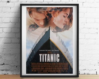 Titanic Movie Film Poster Print Picture A3 A4 Posters